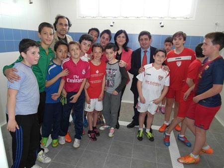Finalizan las obras de los nuevos vestuarios en el Campo Municipal de Fútbol
